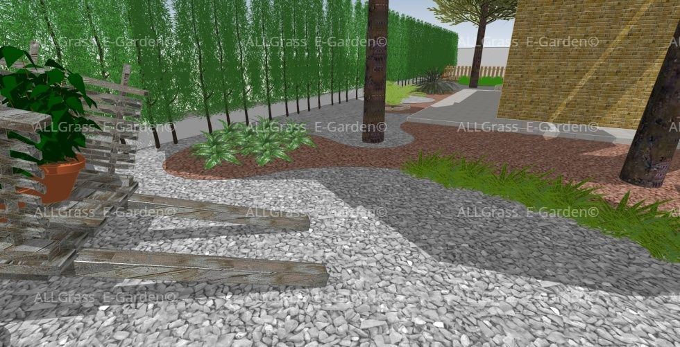 diseño 3D de paisajismo