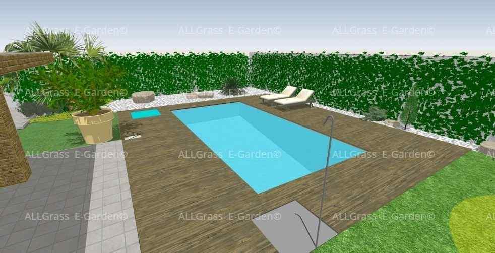 diseño en 3D de piscinas